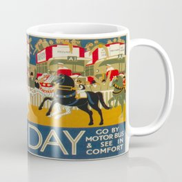 Vintage poster - Derby Day Coffee Mug