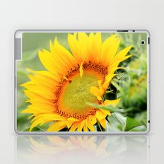 Yellow Sunflower Laptop & iPad Skin