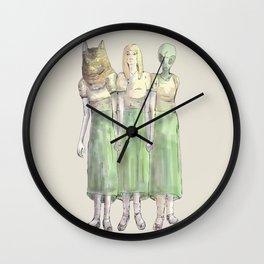 id, ego, superego Wall Clock
