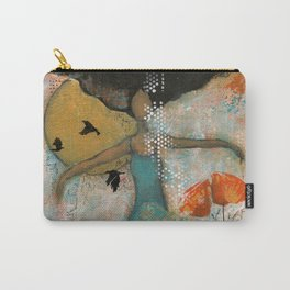 Floating. African American Art, Black Art, Women, Girls, Female Carry-All Pouch