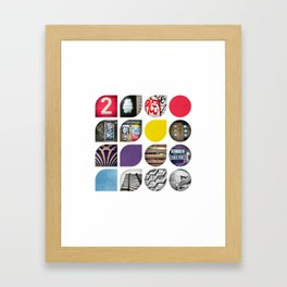 Cold Comfort Collage — The Streets Framed Art Print