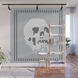 Skull Tile Wall Mural