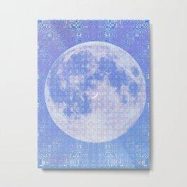 Magick Square Moon Invocation Metal Print