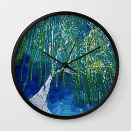 Blustery Wall Clock