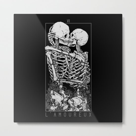 The Lovers Metal Print