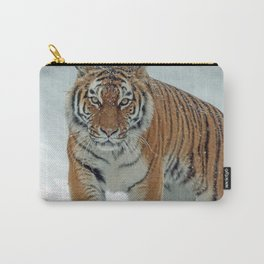 Siberian Tiger in the Snow Carry-All Pouch