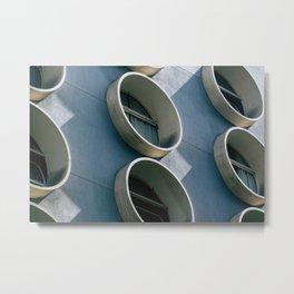 Pod Architecture Metal Print