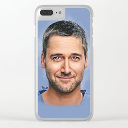 Dr. Max Goodwin // Ryan Eggold // New Amsterdam Clear iPhone Case