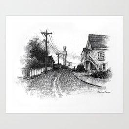Bradford Street, Provincetown Art Print