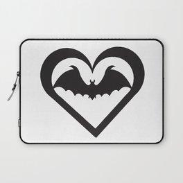 Bat Heart Laptop Sleeve