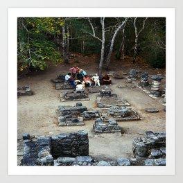 Coba (Maya Ruins) Art Print