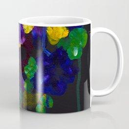 Drip Flowers - Botanical - Floral Coffee Mug
