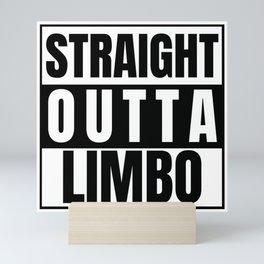 Straight Outta Limbo Supernatural Hell Souls Lore Mini Art Print