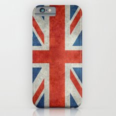 Square Union Jack retro style, made for the Pillows, Duvets and Shower curtains iPhone 6s Slim Case