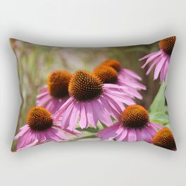 Cone Flowers Rectangular Pillow