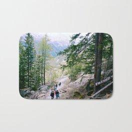 Hiking in Chamonix Bath Mat