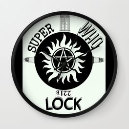 Superwholock Wall Clock