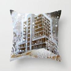 The Fortress III Throw Pillow
