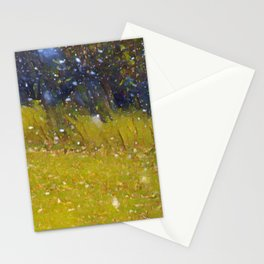 Snow in October Stationery Cards