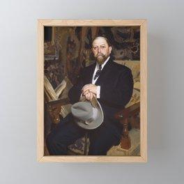 Anders Zorn - Hugo Reisinger Framed Mini Art Print
