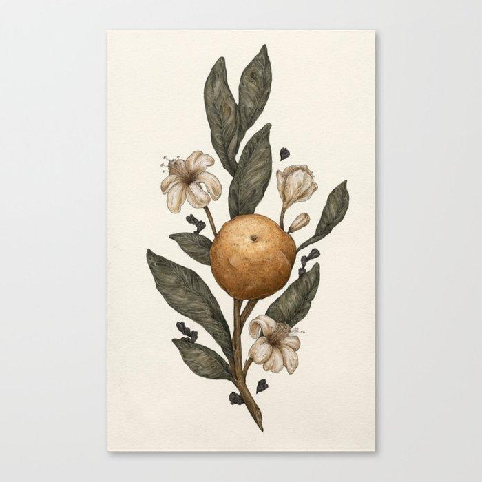 Clementine Leinwanddruck