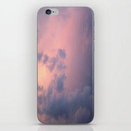 Peaceful Clouds iPhone Skin