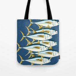 School of Tuna, fish Tote Bag