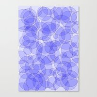 bubbles Canvas Prints featuring Bubbles by Harvey Warwick