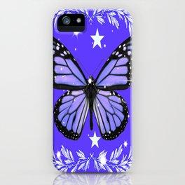 Purple Butterfly iPhone Case