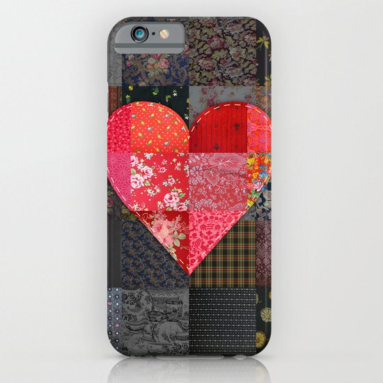 Patched Heart iPhone & iPod Case