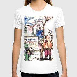 A piece of Kashmir T-shirt