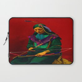 Cherokee Indian Pop Art Laptop Sleeve