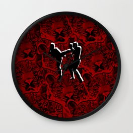 martial art UFC Wall Clock