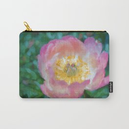A Peony Close-Up Carry-All Pouch
