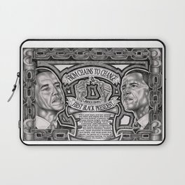 From Chains to Change Poetry by Bakari McClendon Laptop Sleeve
