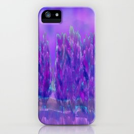 Violet Forest iPhone Case