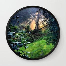 Magic Morning Sunlight Wall Clock