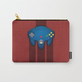 N64 PAD Blue Carry-All Pouch