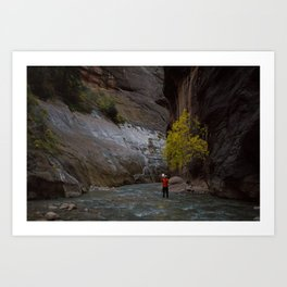 Narrows Photographer Art Print