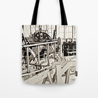 aviation Tote Bags featuring Aviation Science by Simmons Universe