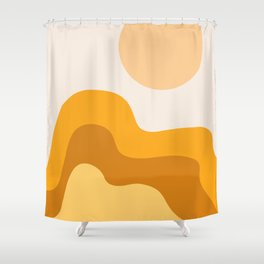 Sun Dunes 02 Shower Curtain
