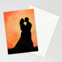 Sunset Lovers Stationery Cards