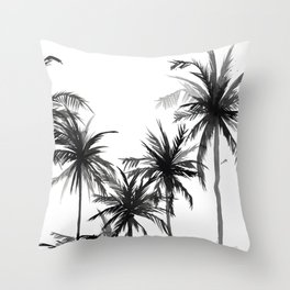 Paradis Noir V Throw Pillow