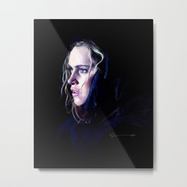 Clarke Griffin - The 100 Metal Print