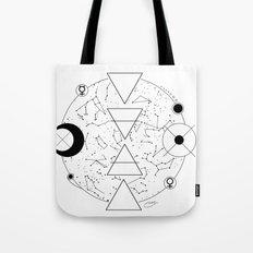 Celestial Alchemical Earth Tote Bag
