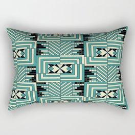 Art Deco Geometry Rectangular Pillow