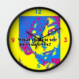 What Do You See..? Wall Clock
