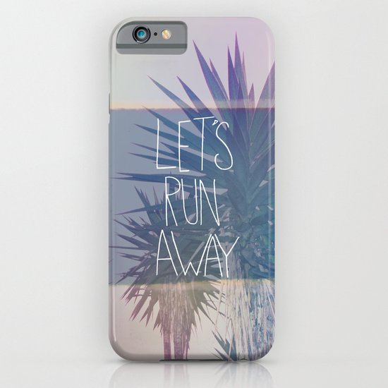 Let's Run Away: Monte Verde, Costa Rica iPhone & iPod Case
