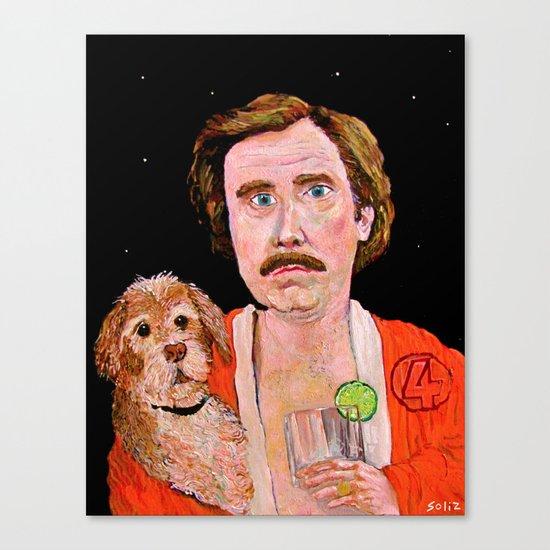 """Stay Classy"" Canvas Print"