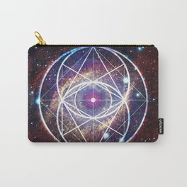 Helix Nebula // Vesica Piscis Carry-All Pouch